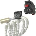 KLICKfix Sattelstützenadapter für Kabelschlösser