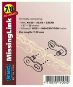 KMC Kettenschloss Missinglink für 8-fach Ketten 7.3mm