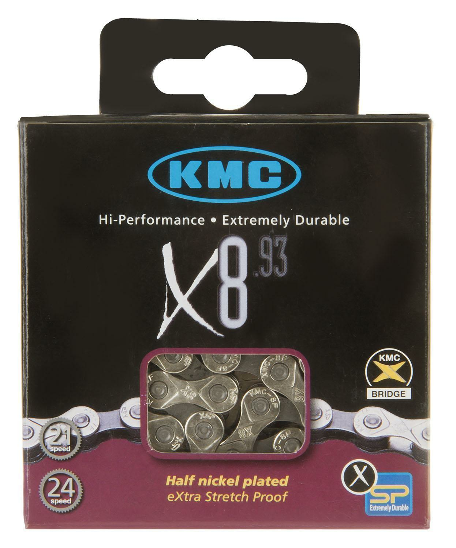 KMC X8.93 8-fach Kette 114 Glieder