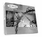 KMC S-1  Kette Singlespeed 112 Glieder 2020