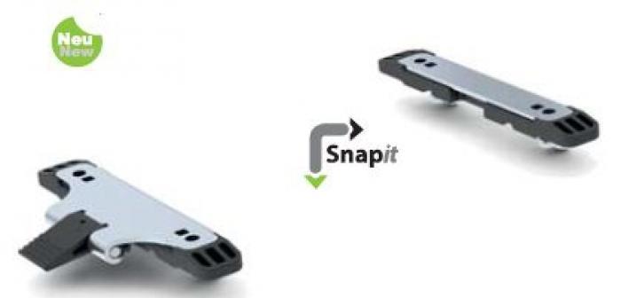 Racktime Schwerlast Snap-it Adapter