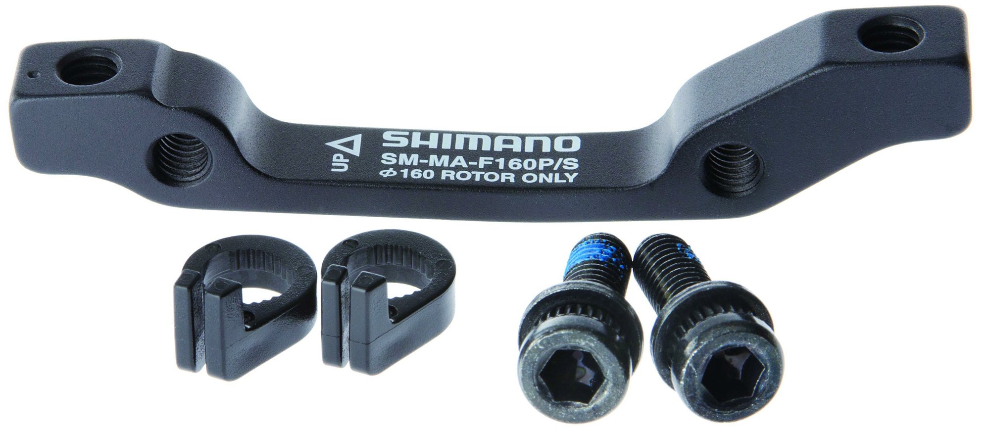 Shimano Adapter Scheibenbremse VR IS-PM 160 mm SM-MA-F160PSA