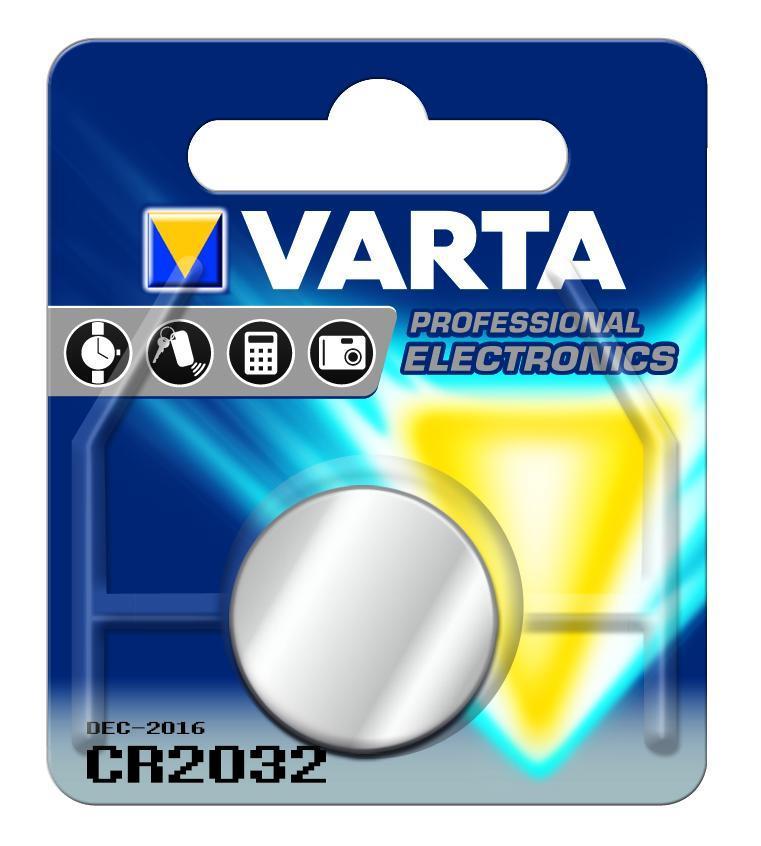 Varta Knopfbatterie Professional Electronics CR2032 3 V
