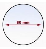 Mirrycle Ersatzspiegel ø-80 mm für Mirrycle E-Bike